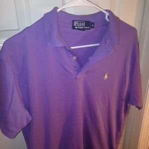 Purple polo by Ralph Lauren